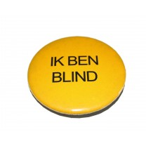 "Button ""Ik ben blind"""