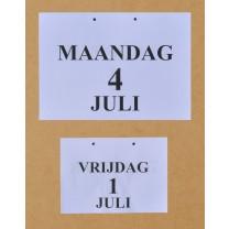 Grootletter dagkalender A4