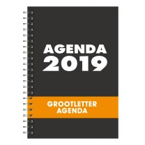 Agenda grootletter A4