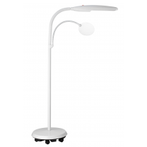 Daylight lamp met lens