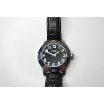 Slechtzienden horloge zwart LOW VISION DESIGN