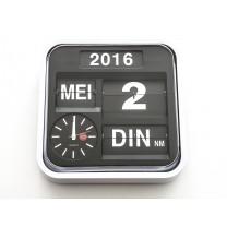 Kalenderklok LOW VISION DESIGN