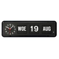 Kalenderklok BQ-38 zwart