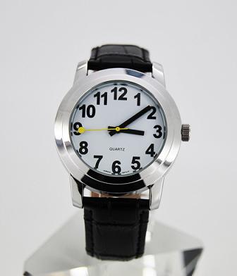 Slechtzienden horloge wit
